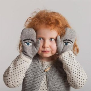 Handmade Mittens For Kids