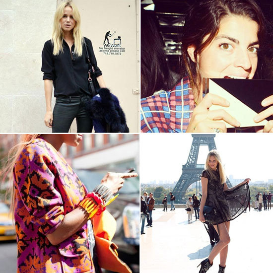 Top Ten Fashionable Celebs, Designers, Bloggers & Editors to Follow on Twitter, Instagram, Pinterest and Facebook: