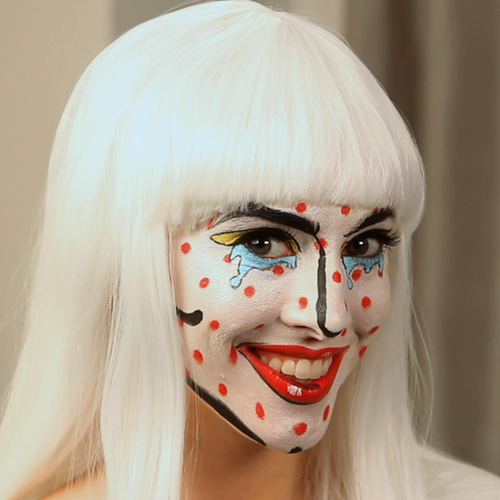 Watch a Pop Art Character Come to Life