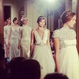 Beautiful bridal gear from the Jenny Packham collection. Source: Instagram user samanthawills