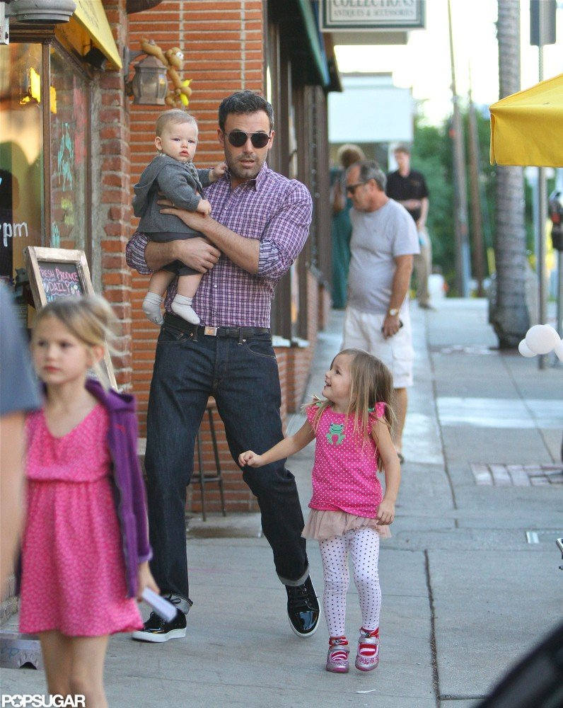 All Five Garner-Afflecks Make a Weekend Outing in LA