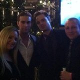 Chace Crawford celebrated at the Gossip Girl wrap party.  Source: Facebook user Chace Crawford
