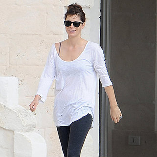 Jessica Biel in Italy After Wedding to Justin Timberlake