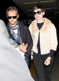 Anne Hathaway and Adam Shulman stepped out in LA.