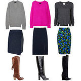 How to Wear Knee High Boots and Pencil Skirts | Fall 2012