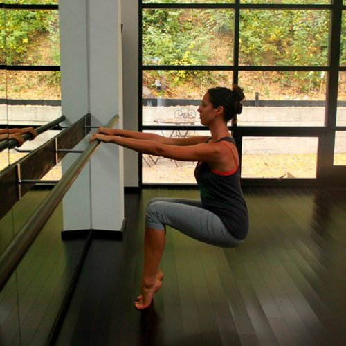 How to Do Barre Chair Pose