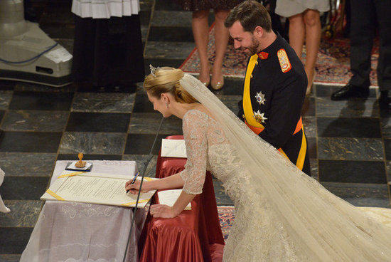 The Wedding Of Prince Guillaume Of Luxembourg &amp; Stephanie de Lannoy - Official and Civil Ceremony