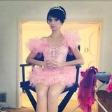 What might Raising Hope's Kate Micucci be doing in a tutu? Source: Twitter user katemicucci