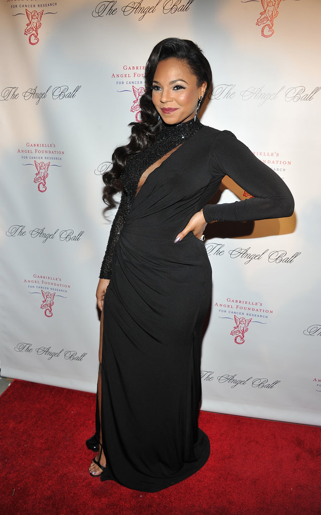 Ashanti stepped out in New York City to attend the Angel Ball.