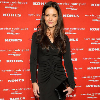 Katie Holmes at Narciso Rodriguez For Kohl's Event