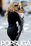 Mariah Carey enjoyed some girl time with Monroe Cannon.