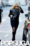 Mariah Carey rocked knee-high boots.