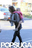 Jennifer Garner Gives Seraphina a Lift Home