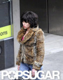 Scarlett Johansson wore a brunette wig to film for Under the Skin in Scotland.