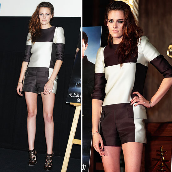 Kristen Stewart Debuts Louis Vuitton for Breaking Dawn