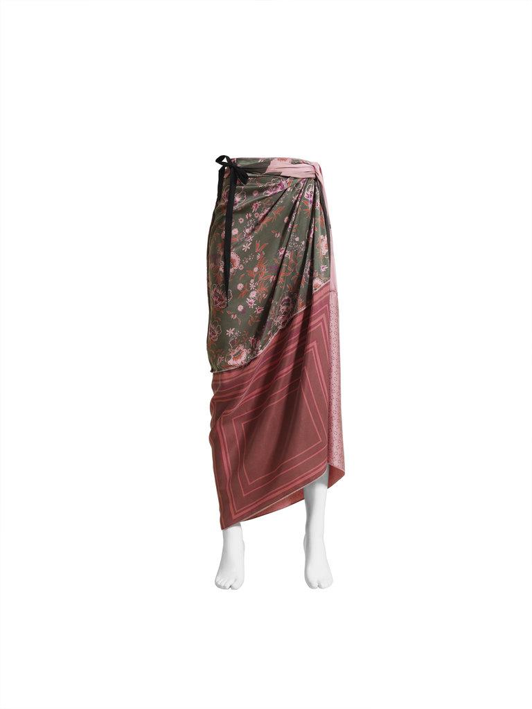 Silk skirt ($129)