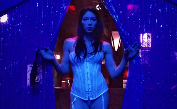 Jessica Biel as Rose-Johnny in Powder Blue, 2009
