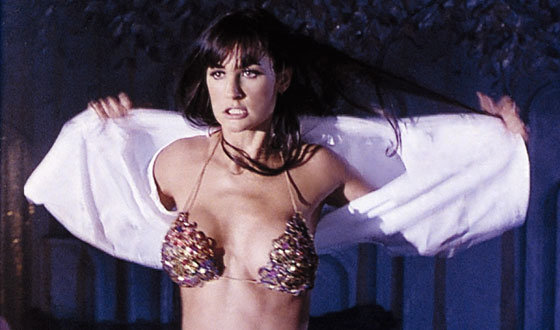 Demi Moore as Erin Grant in Striptease, 1996