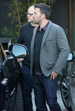 Ben Affleck was with Matt Damon in LA.