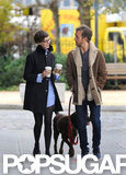 Anne Hathaway and Adam Shulman were in Brooklyn together.