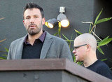 Matt Damon and Ben Affleck left a meeting in LA.
