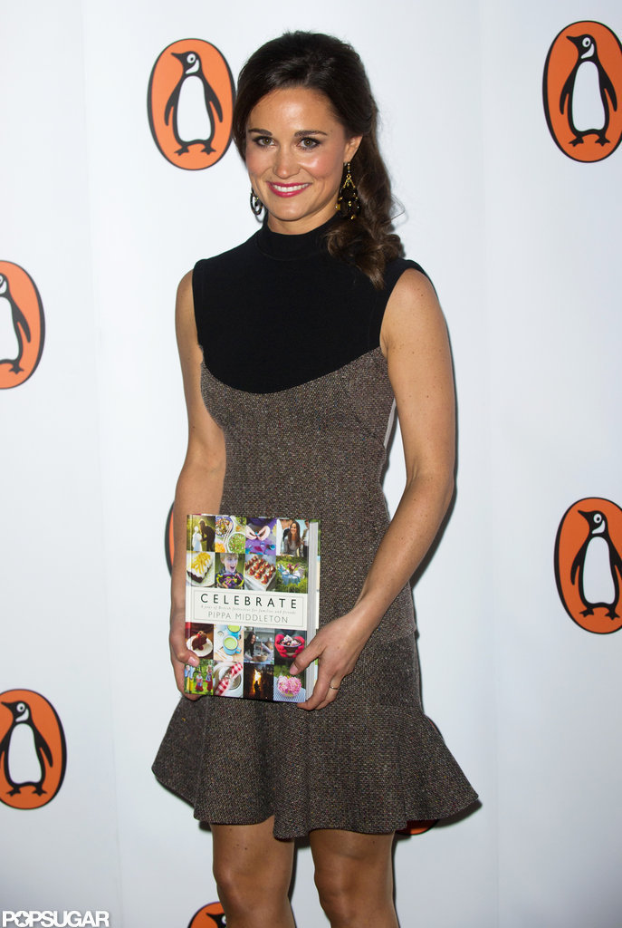Pippa Middleton posed at the launch party for Celebrate in London.