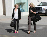 Reese Witherspoon shopped in Beverly Hills.