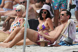Jon Hamm and Jessica Paré filmed Mad Men on the beach in Maui.