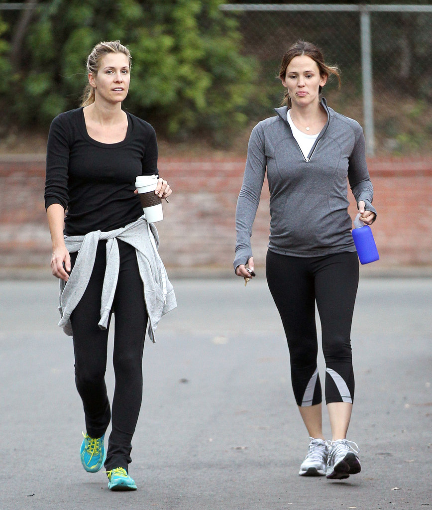 Jennifer Garner went for a walk with a pal.