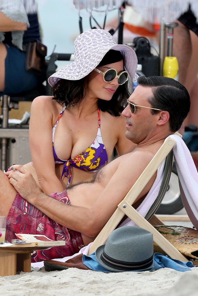 Jon Hamm and Jessica Paré filmed Mad Men in Maui.