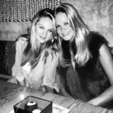 Candice Swanepoel celebrated her birthday with friend Erin Heatherton. Source: Twitter user angelcandice