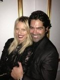 Karolina Kurkova partied with Brian Atwood. Source: Twitter user karolinakurkova