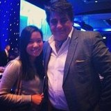 Jess finally got to meet Matt Preston from MasterChef.