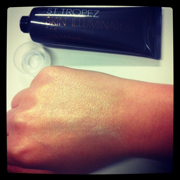Alison fell — hard — for St. Tropez's new Skin Illuminator.