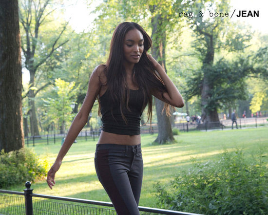 Jourdan Dunn for Rag &amp; Bone Jean Fall 2012