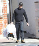 Will Kopelman carried baby Olive.
