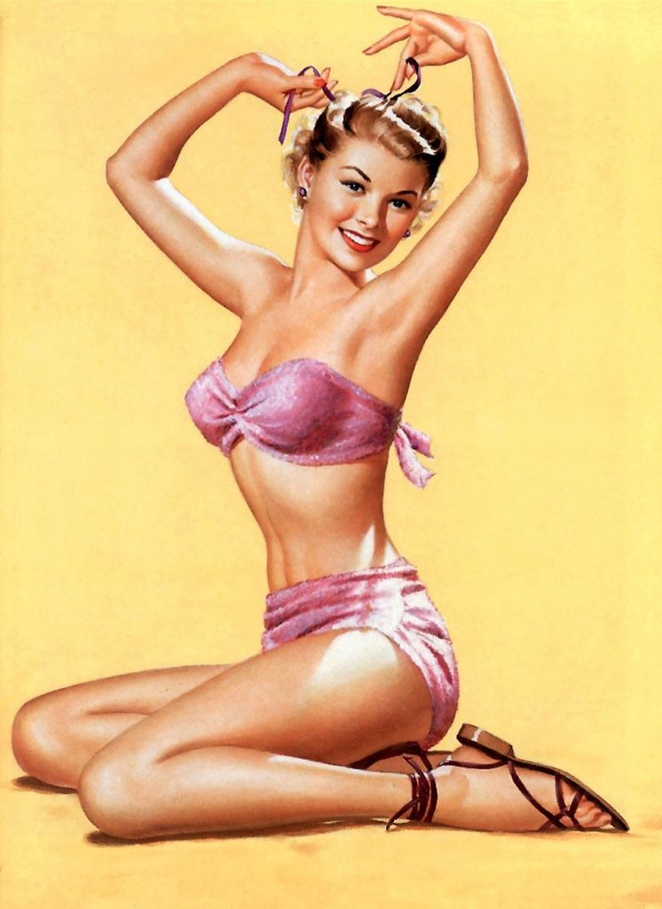 1950s and '60s: Pinups