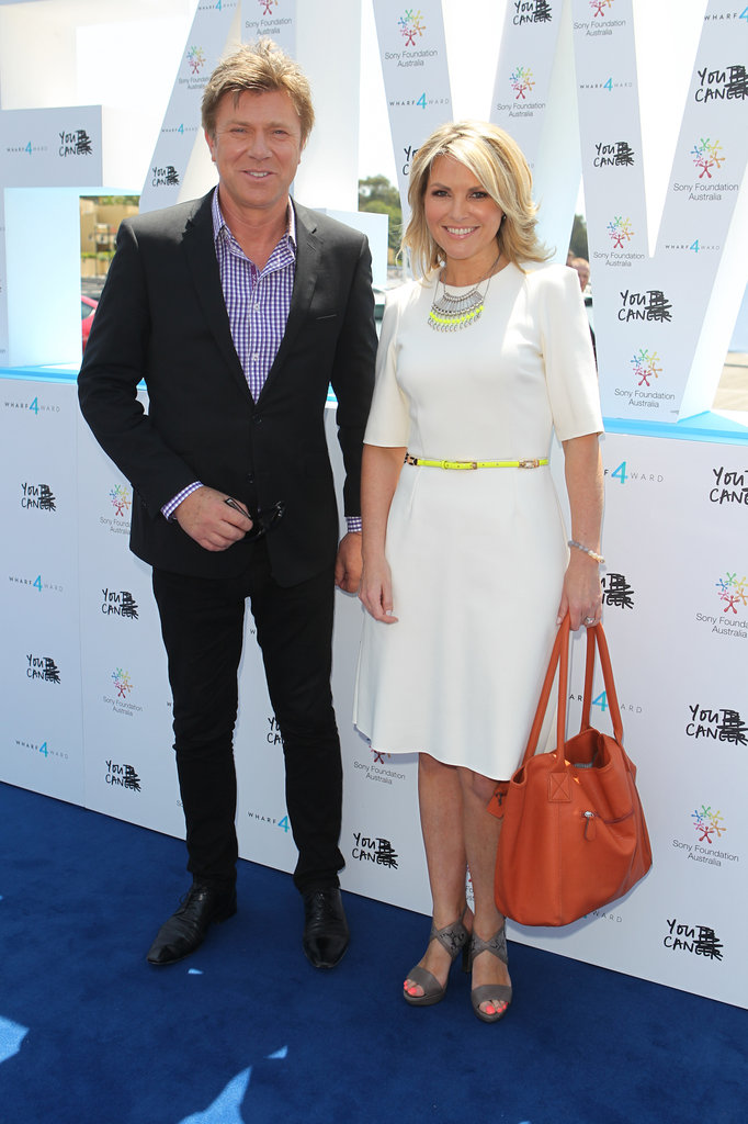 Richard Wilkins and Georgie Gardner