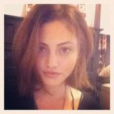 Phoebe Tonkin cut her hair into a choppy bob. Source: Instagram user phoebejtonkin