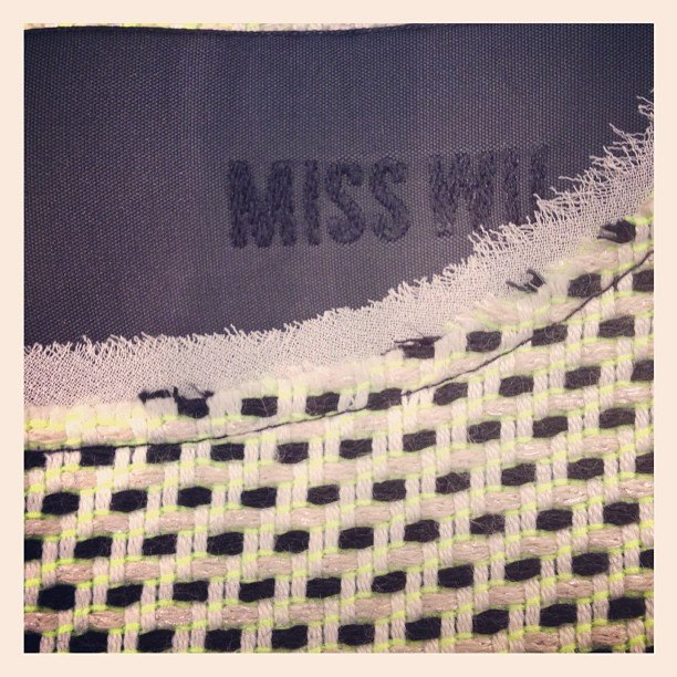 Miss Wu by Jason Wu sneak preview. We can't wait to see the whole range! Source: Instagram user jasonwustudio