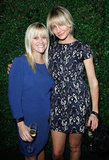 Reese Witherspoon and Cameron Diaz met up at Rag & Bone's new LA store opening in October 2012.