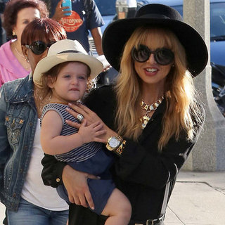 Rachel Zoe and Rodger Berman Swinging Skyler in LA