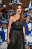 Jennifer Lopez attended the UNESCO Charity Gala in Germany.