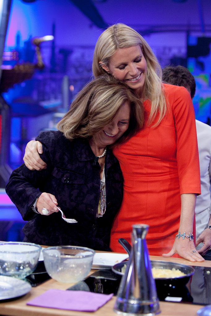 Gwyneth Paltrow filmed a cooking segment on El Hormiguero.