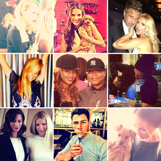 Best Celebrity Instagram and Twitter Pictures October 2012