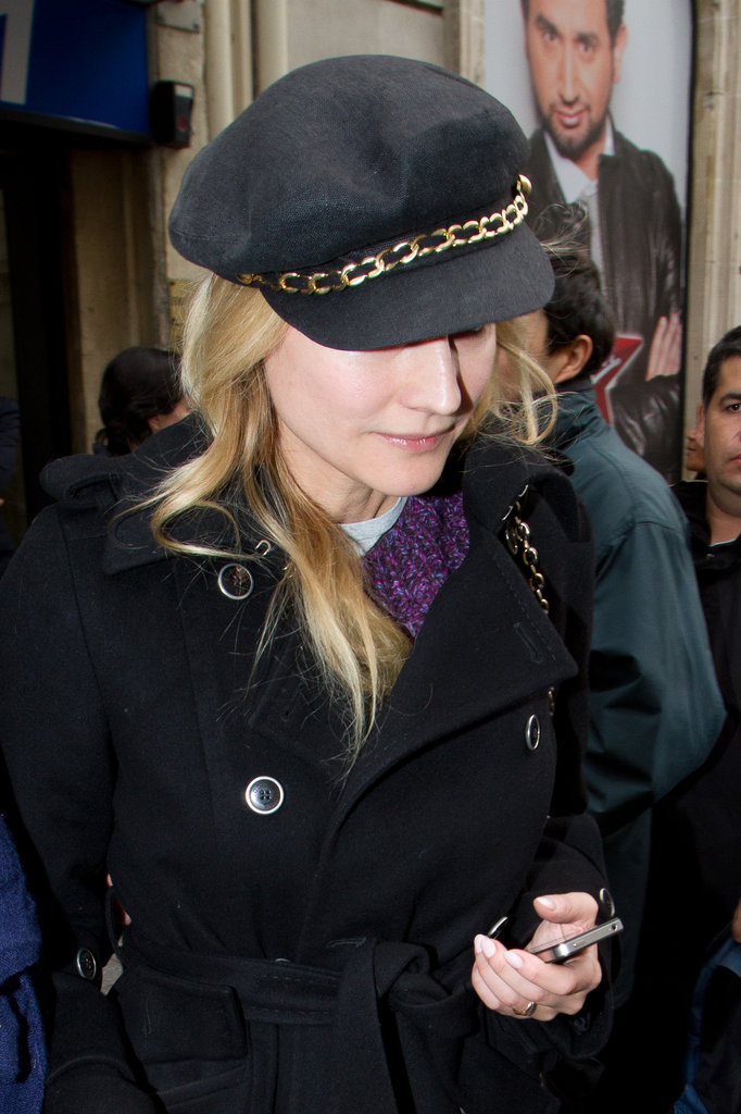 Diane Kruger left the Europe 1 radio station.