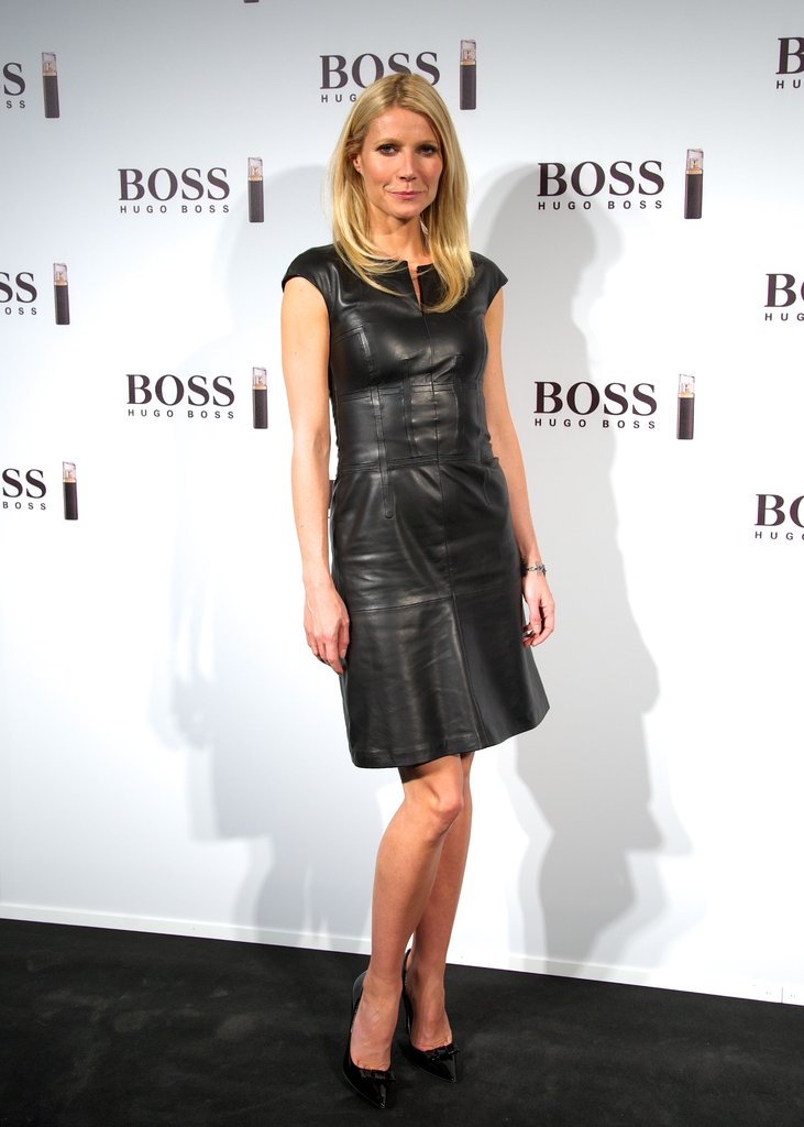 Gwyneth Paltrow walked the red carpet for Hugo Boss's new fragrance.