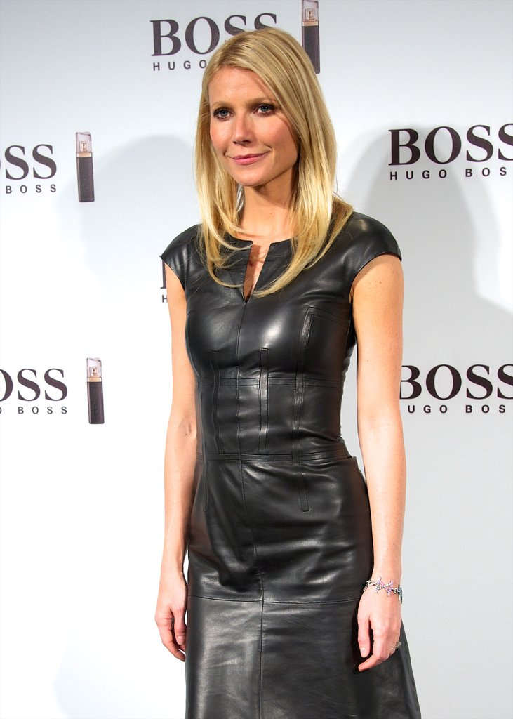 Gwyneth Paltrow launched Hugo Boss's fragrance.