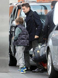Matthew Bellamy was out with Ryder in London.