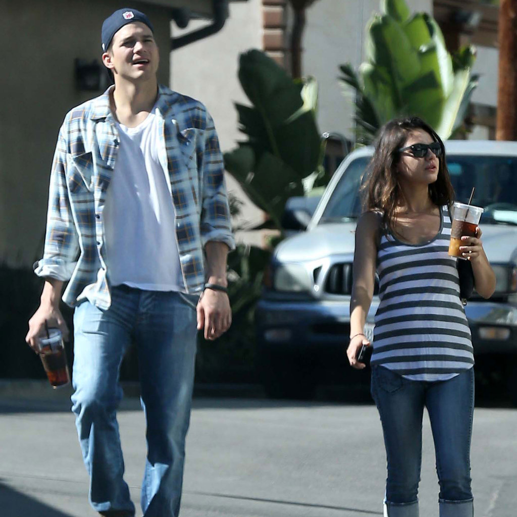 Mila Kunis and Ashton Kutcher Stick Together Through the Weekend